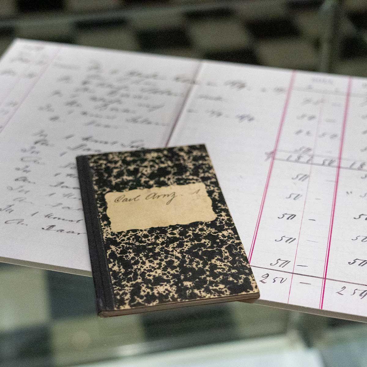 Historie Buchhaltung