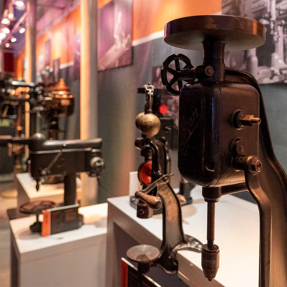 Historie Maschinen