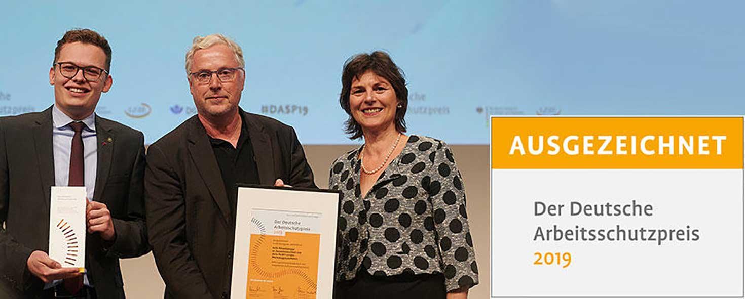 Deutscher Arbeitsschutz Preis 2019