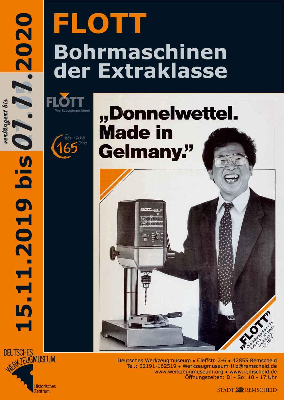 Plakat Deutsches Werkzeugmuseum